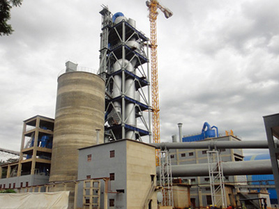 1500 Ton Cement Processing Line