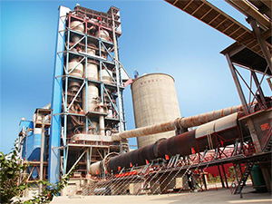Rotary Kiln for Waste Materials