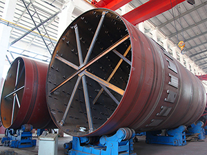 Double Drum Rotary Dryer