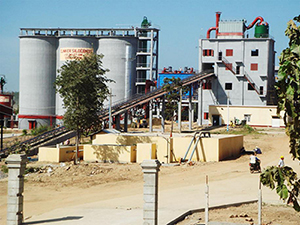 Cement Grinding Plant (Annual Output: 500 Thousand Tons)